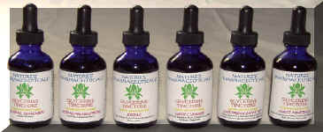 Combination Glycerine Herb Tintures